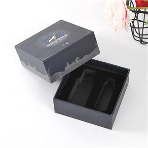 OEM Factory removeable lid cardboard cosmetic gift box