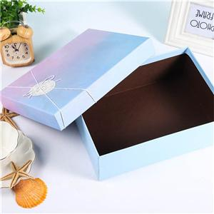 OEM Factory removeable lid cardboard cosmetic packaging gift box