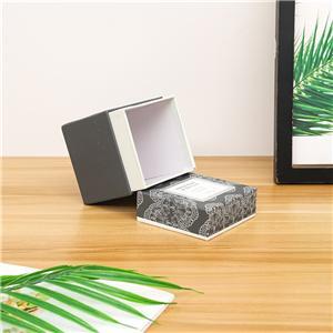 custom Factory eco friendly Small size cosmetic rigid box