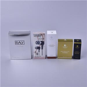 Factory eco friendly cosmetic paper packaging box