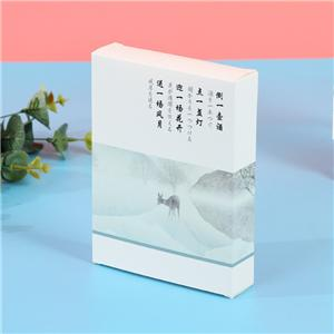 Wholesale OEM Paper Box for Facial mask