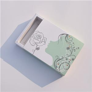 custom Factory eco friendly Facial mask coated paper cosmetic boxes