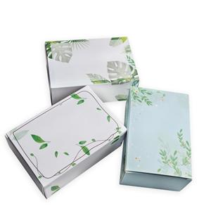 custom Factory eco friendly Facial mask paper cosmetic storage box