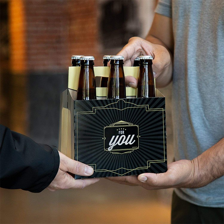 Factory Eco Friendly Beer Carrier Box