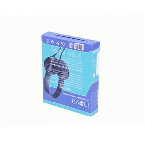 white ivory board window opening packaging earphone cardboard box