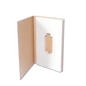 OEM Factory USB flash disk embalaje mini caja de papel kraft