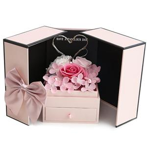 OEM Factory Valentine's Day gift paper box for flowers