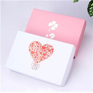 Factory wholesale removeable lid clothing paper box