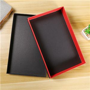 Factory wholesale removeable lid clothing gift paper box