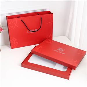 Factory wholesale removeable lid clothing box Packaging