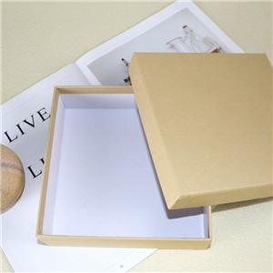 Factory wholesale removeable lid garment paper box