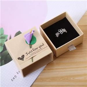 Factory Custom jewellery gift packaging paper box