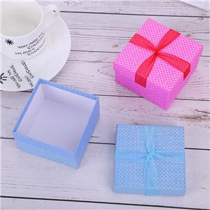 Mini boîte à bijoux en papier de luxe personnalisée en usine