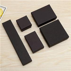 Caja de papel de fábrica de joyas de lujo personalizadas