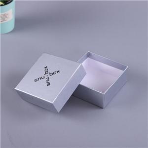 Mini caja de papel de joyería de lujo personalizada de fábrica