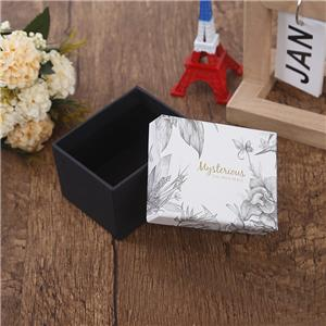 Factory Custom luxury removable lid jewellery paper box