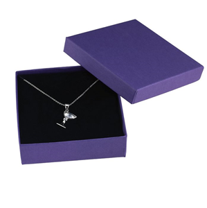 Embalaje de caja de papel de joyería de lujo personalizado de fábrica