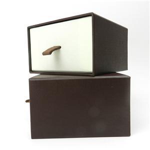 Caja de papel de joyería de cartón de lujo personalizada de fábrica