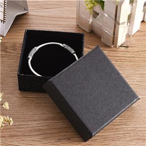 Caja de joyería de papel de lujo personalizada de fábrica