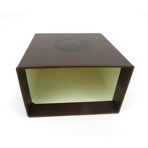 Caja de joyería de regalo de lujo personalizada de fábrica
