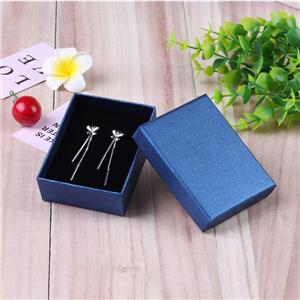 Factory Custom luxury mini necklace jewellery paper box with lid