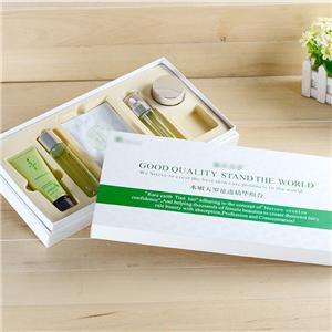 Caja de regalo de empaque de té de lujo personalizada de fábrica