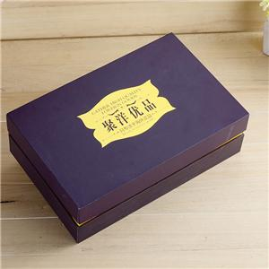 Factory Custom luxury removable lid tea paper gift box