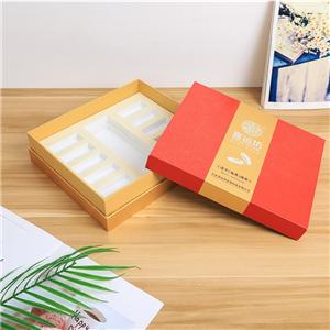 Factory Custom luxury removable lid tea paper box