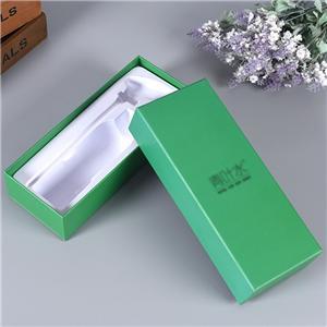 Boîte-cadeau de thé à couvercle amovible de luxe personnalisé en usine
