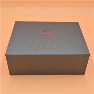 Caja de papel de empaquetado de té magnético de lujo personalizado de fábrica
