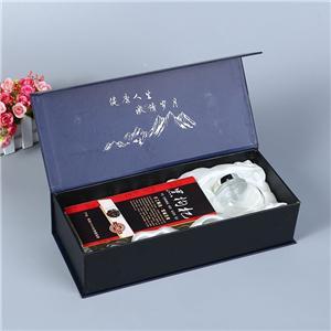 Caja de vino de lujo personalizada de fábrica