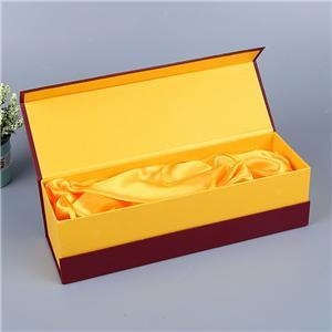 Boîte de papier de vin de luxe personnalisée en usine