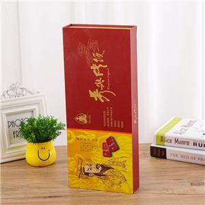 Boîte de papier de vin magnétique de luxe personnalisé en usine