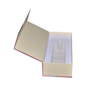 Caja de papel de empaquetado de té de regalo magnético de lujo personalizado de fábrica