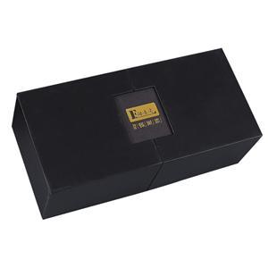 Caja de papel de empaquetado de té negro de lujo personalizada de fábrica
