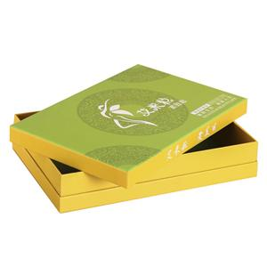 Factory Custom luxury green coclor tea packaging paper box