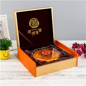 Boîte de papier de thé magnétique de luxe personnalisé en usine