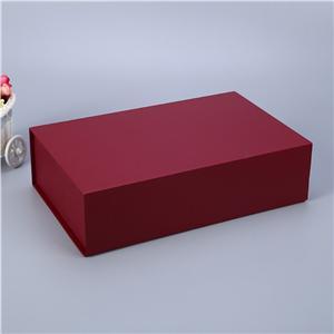Embalaje de caja de regalo de té magnético de lujo personalizado de fábrica