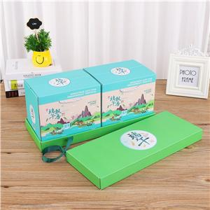 Caja de regalo de impresión de lujo personalizada de fábrica