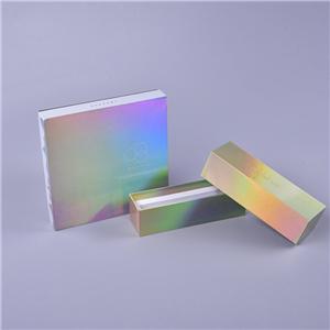 Caja de embalaje de regalo de impresión de lujo personalizada de fábrica