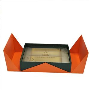 Boîte-cadeau carrée d'impression de luxe personnalisée en usine