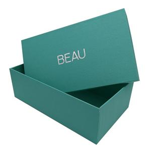 Caja de cartón de joyería de lujo personalizada de fábrica