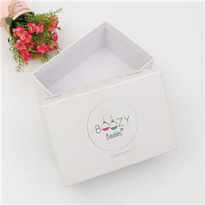 Boîte à bijoux en papier cadeau de luxe personnalisé en usine