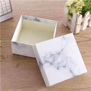 Caja de joyería de anillo de papel de regalo de lujo personalizado de fábrica