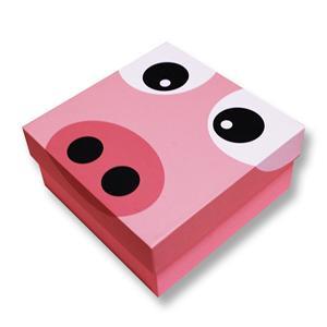 Boîte d'emballage cadeau de luxe rose personnalisé en usine