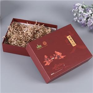Cajas rojas de cartón de lujo personalizadas de fábrica