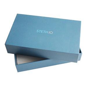 Caja de papel de regalo de cartón de lujo personalizada de fábrica