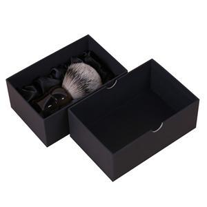 Mini cajas de papel negro de lujo personalizadas de fábrica