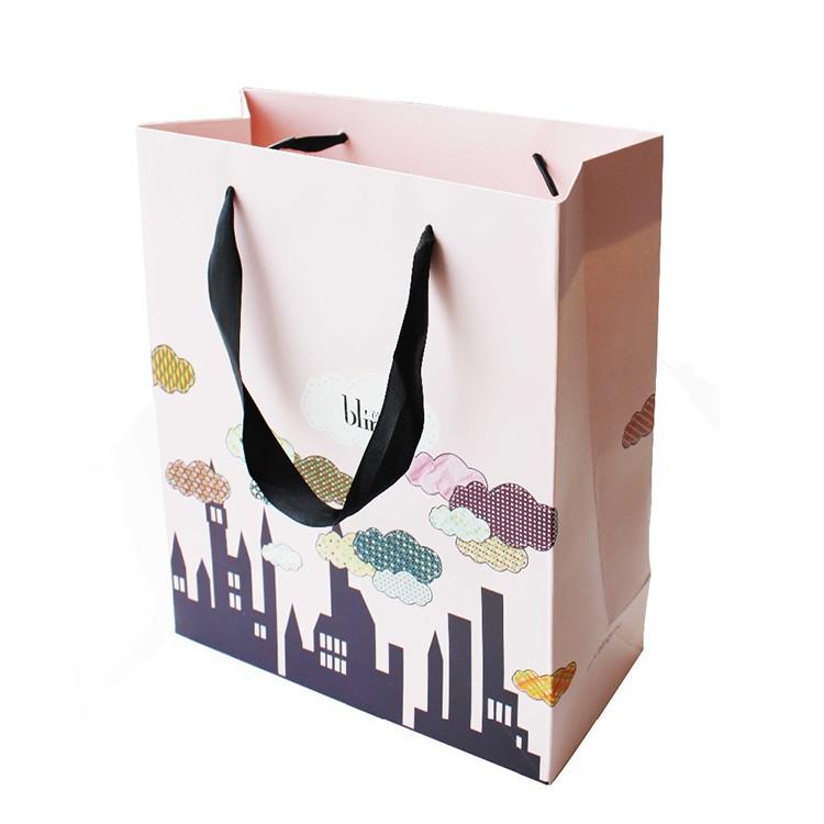 الصين مصنع مخصص حقيبة تسوق ورقة الطباعة بالألوان الكاملة