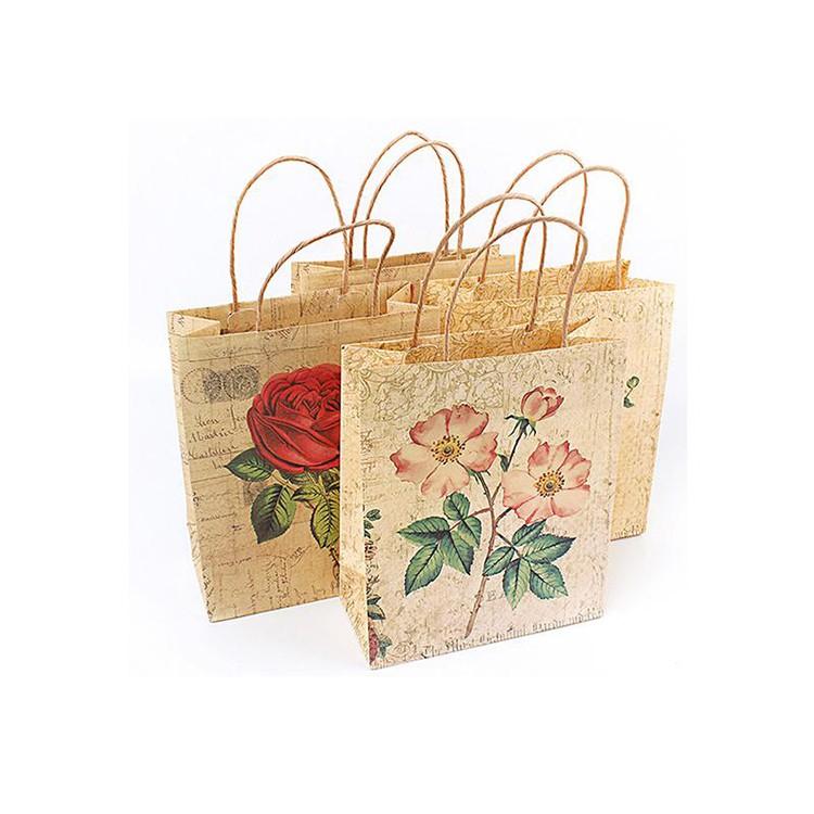 الصين مصنع مخصص الجملة ورقة حقيبة تسوق